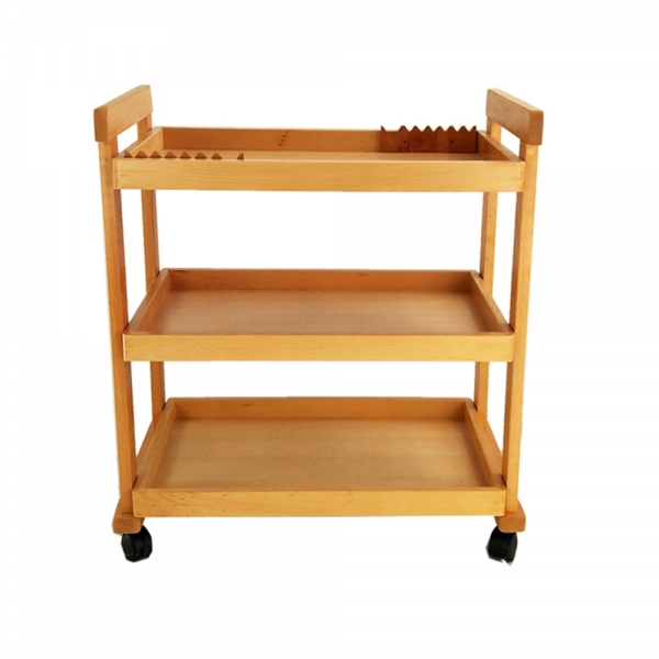 $67.99 for W13 3-Tier High-Quality Beech Drawing Tool Cart With Code BEE0321