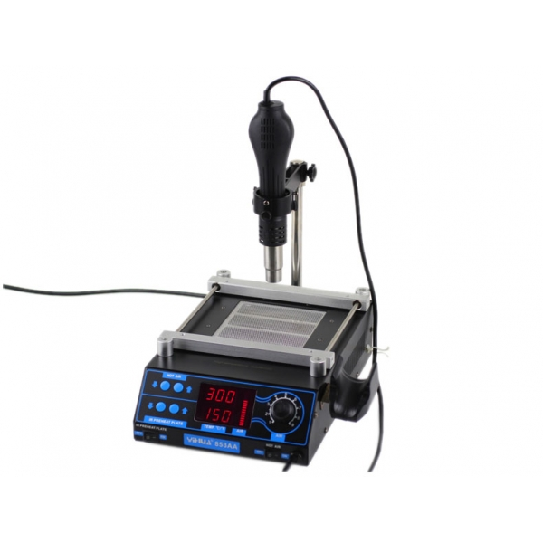 $50 OFF for 853AA 2 in 1 BGA PDA Rework Heating Hot Air Iron Welder Soldering Station