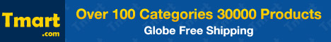 Worldwide Free Shipping @Tmart.com