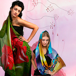 Hand Made Silk Scarves