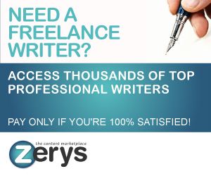 Zerys - The Content MarketPlace!