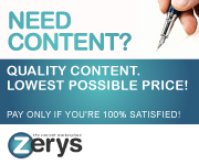 Zerys - The Content MarketPlace!