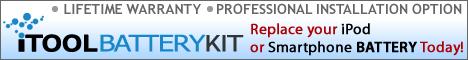 iTool Battery Kit Professional instalation