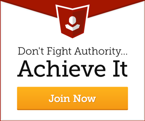 Don't Fight Authority... Achieve it.
