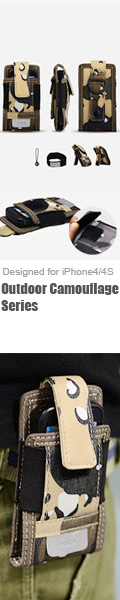 Outdoor Camouflage Travel iPhone4/4S Sleeve Case