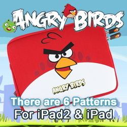 Angry Birds Series Microfiber iPad iPad2 Pocket Case