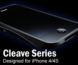 Cleave Series Aluminum iPhone 4 Bumper Case