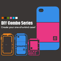 iWOWCase DIY combo customize iphone case