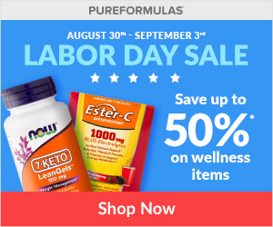 Pureformulas Labor Day promotion