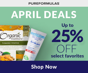 April Deals - up to 25% off