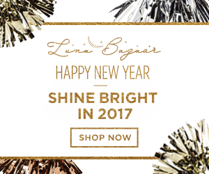 Shine Bright in 2017 with help from LunaBazaar.com