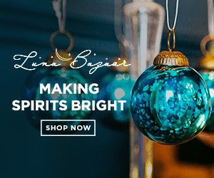 Make Spirits Bright with LunaBazaar.com