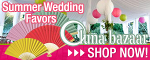 Save on Summer Wedding Favors at LunaBazaar.com