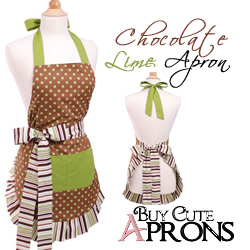 Chocolate Lime Apron