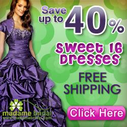 Sweet Sixteen Dresses