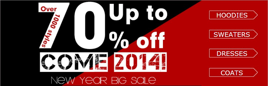 Romwe Xmas big sale!