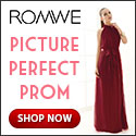 Have a picture perfect prom with your dress from ROMWE.com