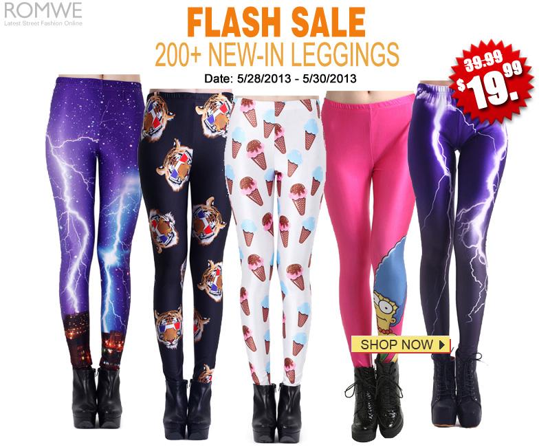 3-Day Leggings Sale