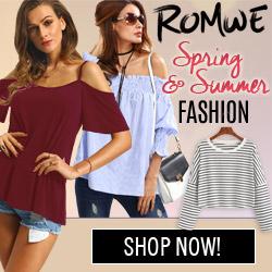 #romwe spring fashions