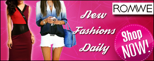 Shop for New Fashions Daily at ROMWE.com