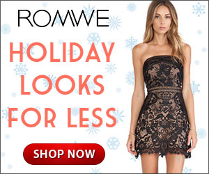 Get your holiday look for less at ROMWE