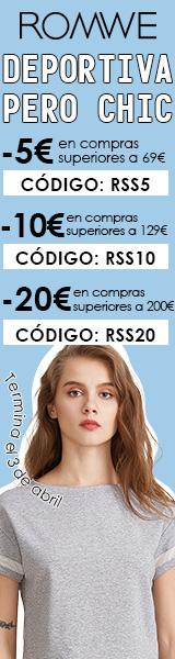 Ahorrar hasta un €20 en es.ROMWE.com