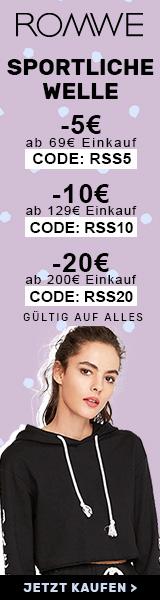 Sparen Sie €20 Rabatt auf Bestellungen über €200 bei de.ROMWE.com