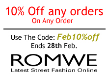 shop romwe online