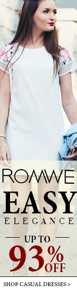 Easy Elegance Sale - Up to 93% off Dresses at Romwe.com!  Ends 5/30