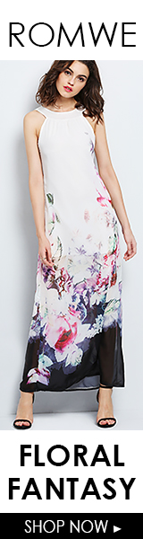 Buy one, get one 55% off floral looks at ROMWE.com! Sale ends 3/16