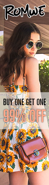 Buy one get one at 99% off at us.ROMWE.com  Limited Time Offer