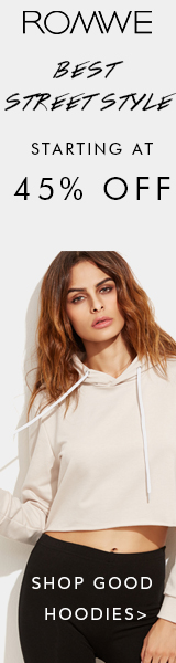 Best Street Style Sale - All included items starting at 45% off at ROMWE.com! Ends 10/24