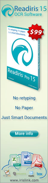 NEW Readiris Pro 15 - OCR Software $99 (for US & Canada)