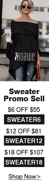 Roawe Extra 10% More Off on All Fall Clothing