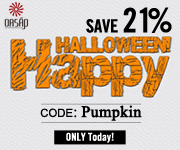 Coupon code: Pumpkin