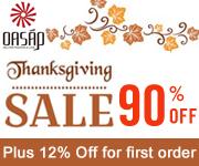 coupon code: oasap1st