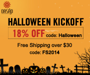 Coupon code: Halloween