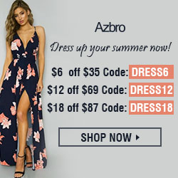$6 off $35 on all dresses