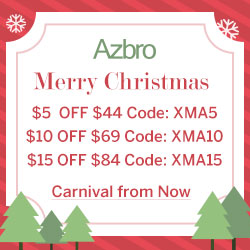 Azbro Extra $15 Off on Christmas Sale