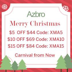 Azbro Extra $15 Off on Christmas Sale