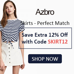 Save Extra 12% Off with Code SKIRT12