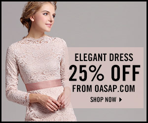 25% off elegant lace dress now