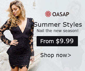 Refresh your own wardrobe with your preferences @oasap. Free shipping, no minimum.
