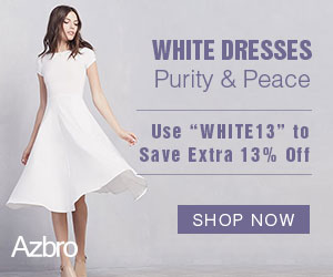 """Use """"WHITE13"""" to Save Extra 13% Off"""