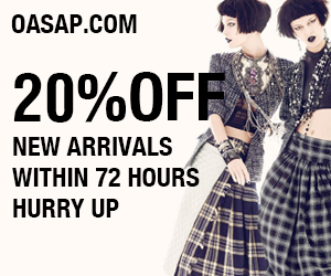 Buy within 72 hours of arrival and receive 20% off