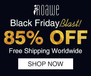 Roawe 85% Off on Black Friday Sale
