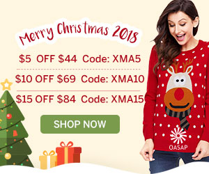 OASAP Extra 17% Off on Christmas Sale