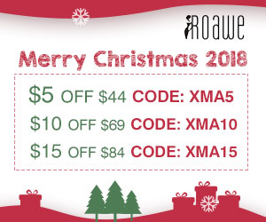 Roawe Extra $15 Off on Christmas Sale