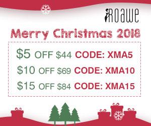 Roawe Extra $15 Off on Christmas Sale