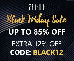 Roawe Extra 12% Off on Black Friday Sale